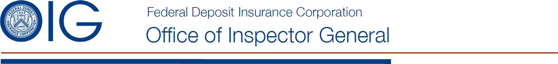 Federal Deposit Insurance Corporation - Office of Inspector General